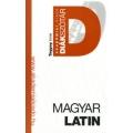 Magyar-latin diákszótár