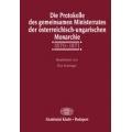 Die Protokolle des gemeinsamen Ministerrates der österreichisch-ungarischen Monarchie - 1870-1871